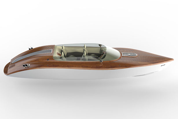 Raceline 26-foot Powerboat by Pietro Russomanno