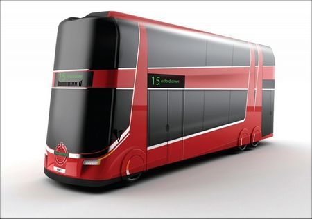 radical design proposal for london bus