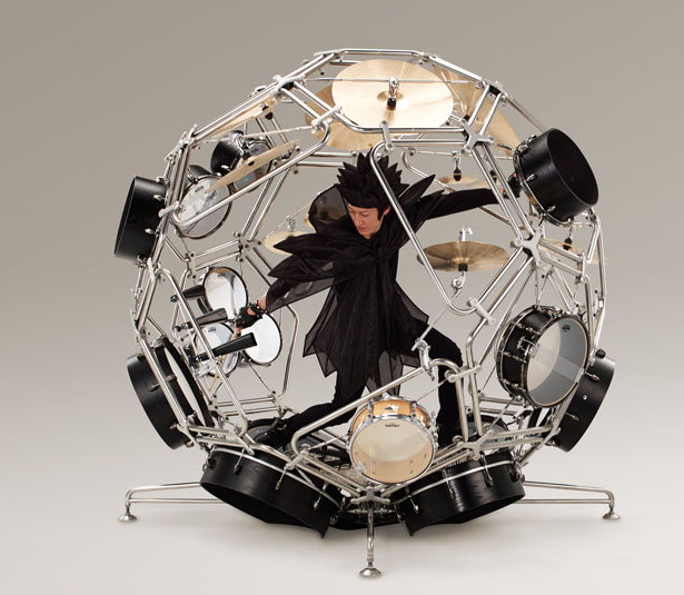 Yamaha Raijin 'God of Thunder' Drums