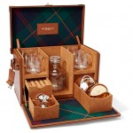 Kipton Mixologist Box Is A Luxurious and Stylish Traveling Bar
