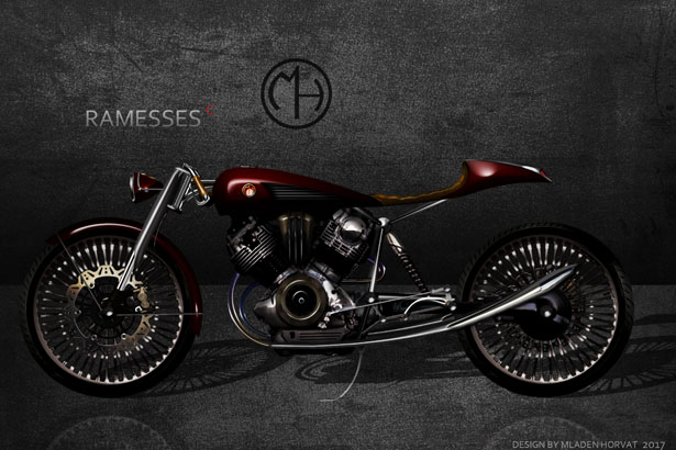 Ramesses Concept Motorcycle by Mladen Horvat