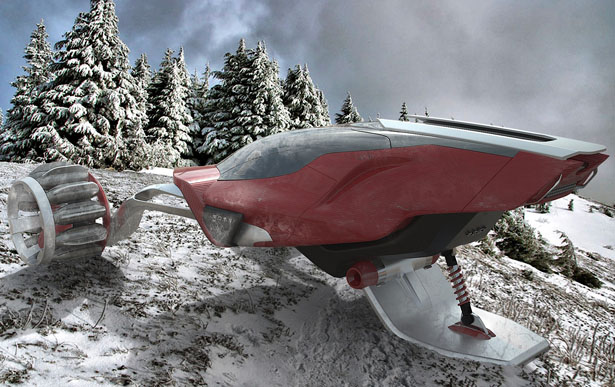 Rapid Deployment Snow Vehicle (RDSV) by Juan Garcia Mansilla