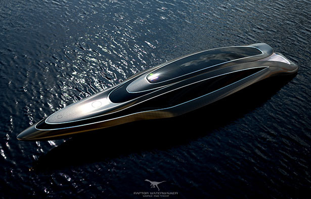 Raptor Waterwalker Yacht by OneEssentials