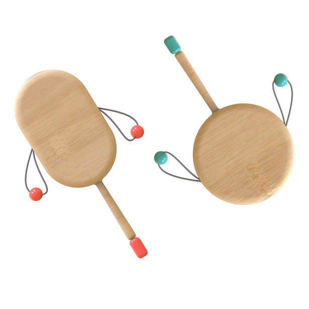 Rattle Drum Various Voiced by Wenzhou Vocational and Technical College - A' Design Award and Competition 2019 - Last Call for Entries
