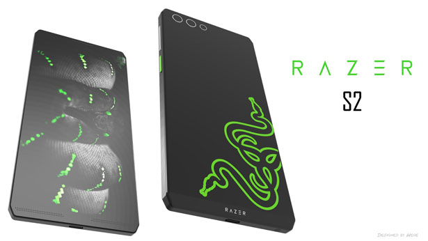 Razer 2S Concept Phone Proposal by Mladen Milic