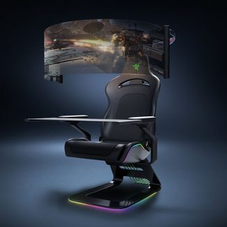 Razer Project Brooklyn Concept Gaming Chair for Total Immersion of Game Playing