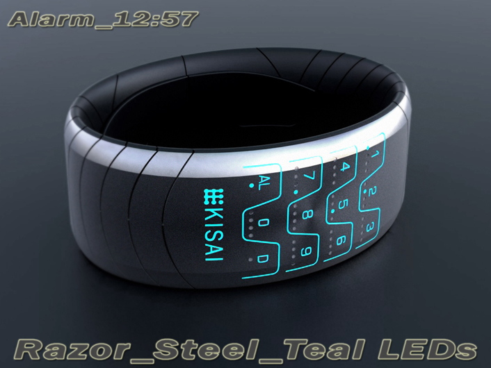 Razor LED Watch by Peter Fletcher