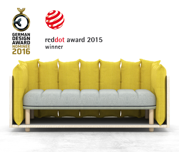 Re Cinto Sofa by Davide Anzalone