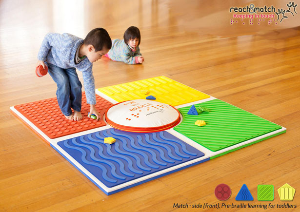 Reach & Match Braille Learning Toy by Lau Shuk Man