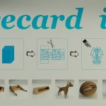 """Recard it"" Post Office Cardboard Box Can Be Transformed Into Different Objects"
