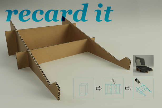 Recard It Post Office Cardboard Boxes