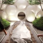 Recompose Building Facility Gently Converts Human Remains into Soil