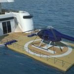 Recreational Island : Portable Floating Platform for Recreational Use