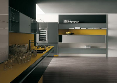 recyclable future kitchen from valcucine