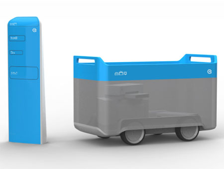 recycle bin for ewaste by smartdesign