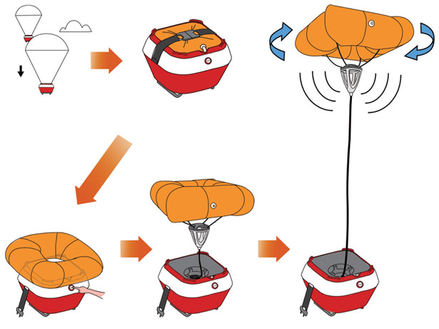 Red Dot Award Design Concept 2012 - Float Base Station