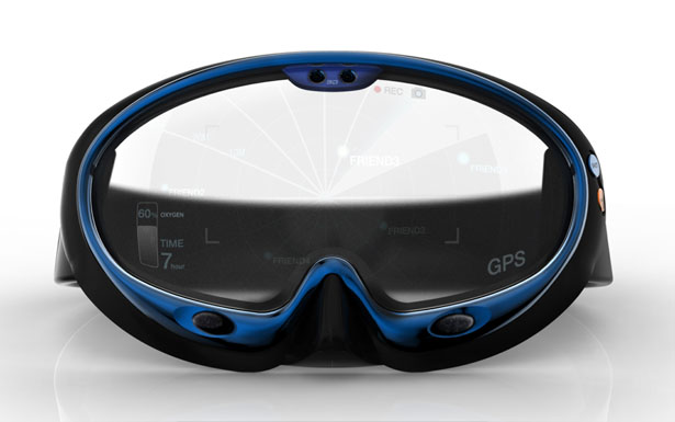 Red Dot Award Design Concept 2012 - Smart Swimming Goggles