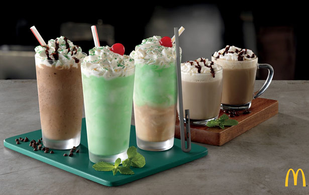 Redesigned Straws Are Created Specially for McDonald's Shamrock Season