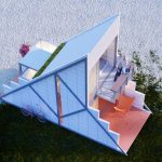 Refuge HT : Triangle Shaped Micro Habitat for a Short Weekend City-Escape by Felipe Campolina