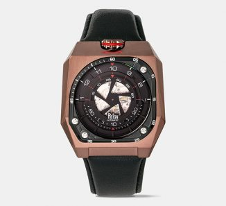 Futuristic Reign Asher Automatic Watch Tells Time Through Rotating Discs