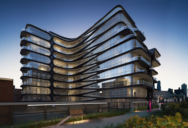 Related Companies 11-Storey Residential Condominium by Zaha Hadid Architects