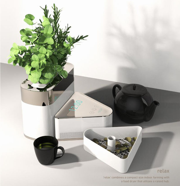 Relax Indoor Farming by Sungsu Kim, Yeojeong Kim, Ryan Joongi Cho, Asen Kim Ou, and Min Sung Park