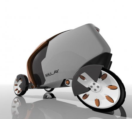 Relay, An Electric Urban Delivery Vehicle Concept