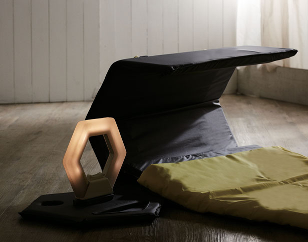 Rely Folding Sleeping Mat by Chen Yu Jung