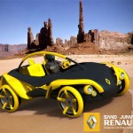 Renault 2010 Sand Jumper All Terrain Vehicle Provides Fun In An Eco-Friendly Manner
