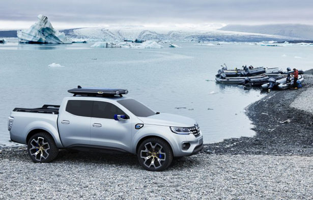 Renault Alaskan Concept Pickup Truck Offers Modern Style To The World of Pick-ups