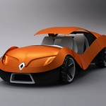 Renault E0 Car Concept with Solar Panel Roof