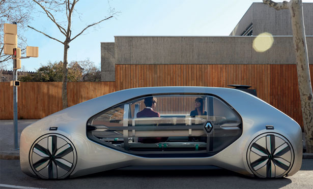 Renault EZ-GO: Robo-vehicle Concept For Shared Urban Mobility