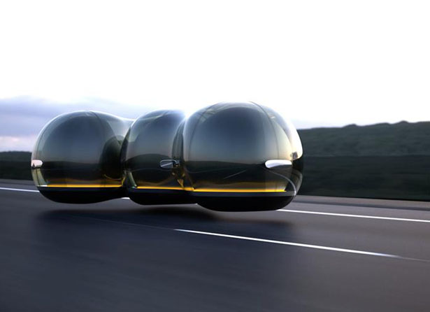 Float Futuristic Concept Car for Renault by Yuchen Cai