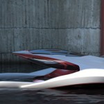 Renault Hydroplane Concept : Hybrid Vehicle Between A Plane and A Boat