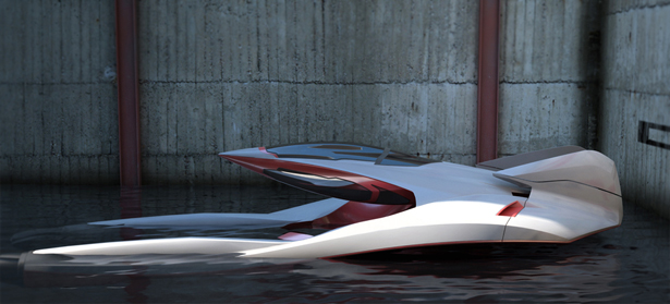 Renault Hydroplane by Florent Mennechet