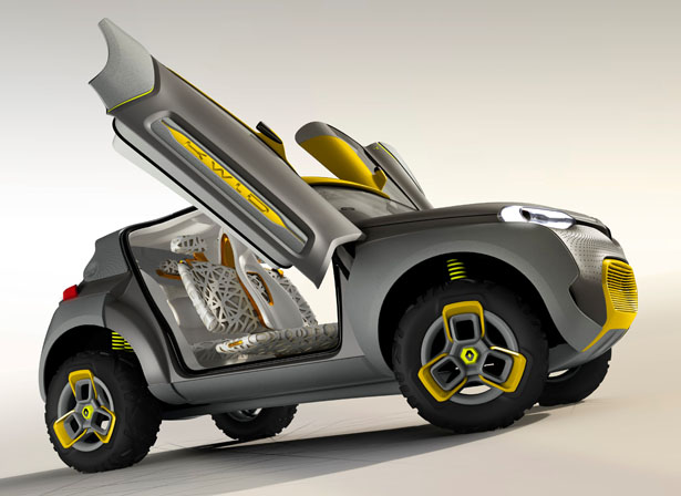 Renault Kwid Concept Car Comes With Flying Companion