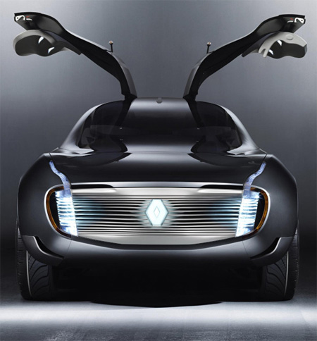 Renault Ondelios Futuristic Car Concept With Butterfly-Type Side Doors
