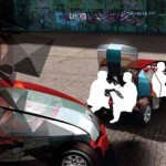 Renault Picnic Zero-Emissions Concept Car Provides Room for Social Gathering