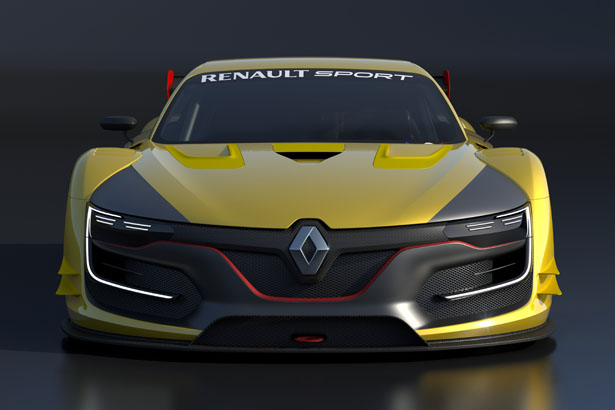 renault sport r s 01 racing car features optimum aerodynamic downforce tuvie. Black Bedroom Furniture Sets. Home Design Ideas