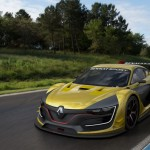 Renault Sport R.S. 01 Racing Car Features Optimum Aerodynamic Downforce