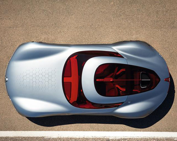 Renault Trezor Electric GT Concept Car Features Simple and Sensual Lines