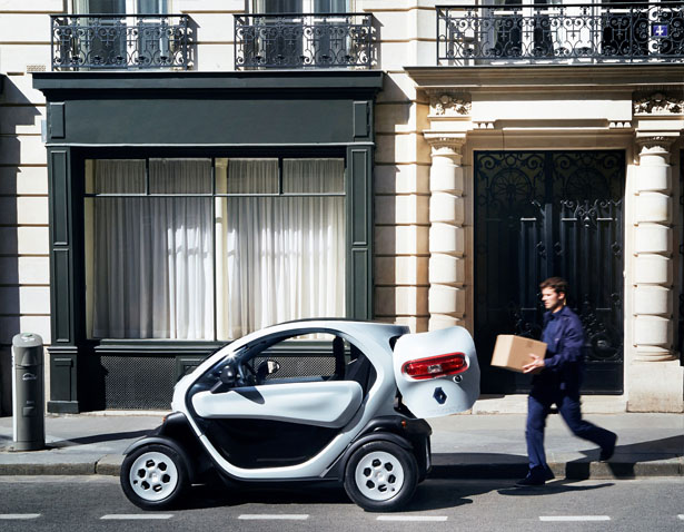 Renault Twizy Cargo Is Especially Designed to Carry Goods Around The City