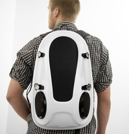 Reppo II Boombox Backpack, Plug and Play
