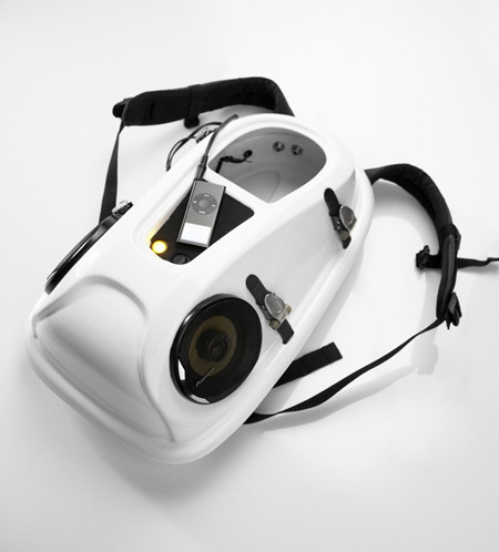 reppo urban boombox backpack