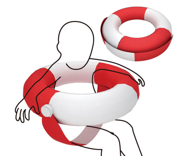 Rescue Seat Water Rescue Equipment by Yi-Chun Chou and Kuo-Shu Chen