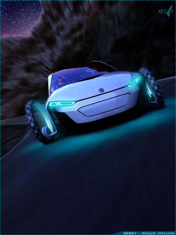 Reset Convertible Concept Car Is Inspired By Sailboat And