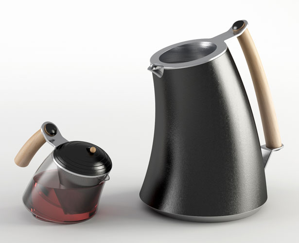 Reverence Tea Brewer by Hakan Gürsu of DesignNobis