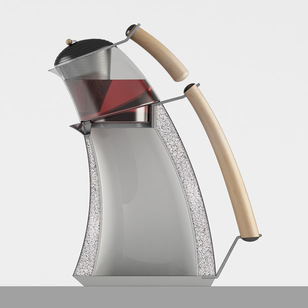 Reverence Tea Brewer Features Two Chambers for More Energy Efficient Design