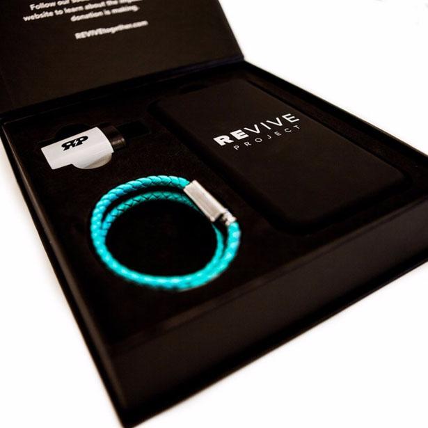 Stylish Revive Charging Bracelet