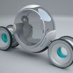 Revolute : Futuristic Single Person Electric Vehicle by Harsha Vardhan